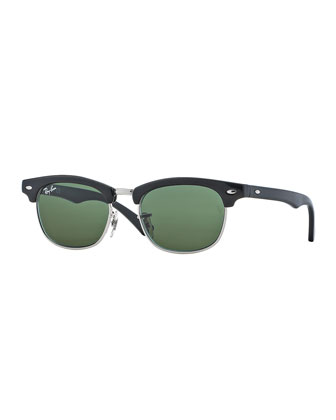 Children's Clubmaster?? Sunglasses, Black