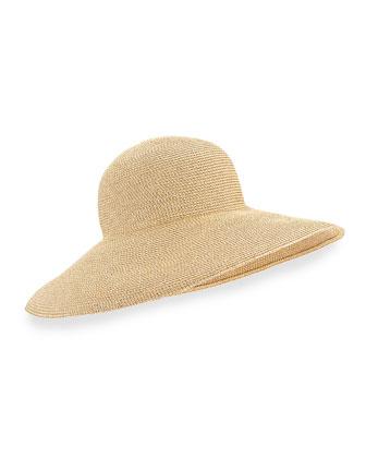 Shrimpton Shimmery Wide-Brim Hat