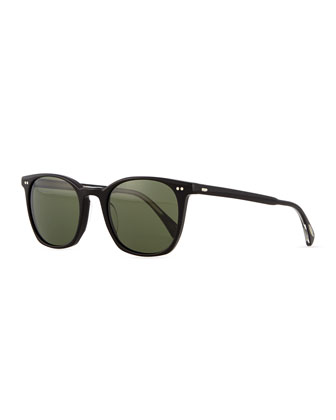L.A. Coen Universal-Fit Sunglasses, Black