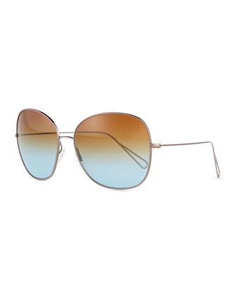 Isabel Marant par Oliver Peoples Daria 62 Oversized Sunglasses