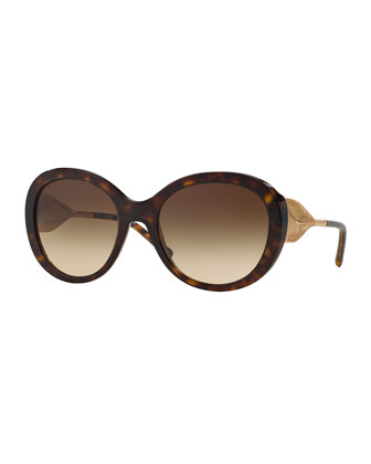 Trench-Knot Universal-Fit Sunglasses
