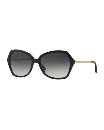 Butterfly Twist-Temple Sunglasses