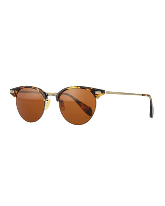 Executive II Round Sunglasses