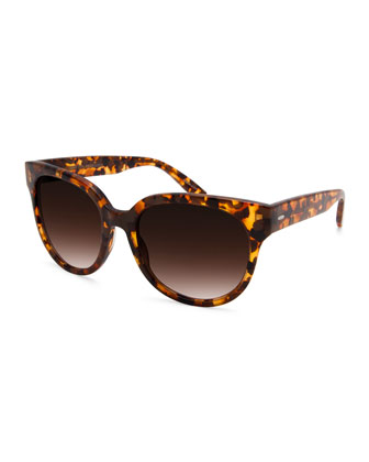 Universal Fit ValleyGirl Oversized Acetate Sunglasses