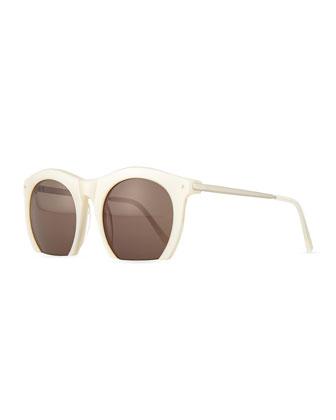 Foundry Cutoff Sunglasses, Pearl