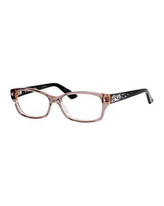 Fashion Glasses w/Jewel Temple