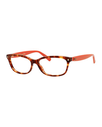 Stud-Temple Fashion Glasses