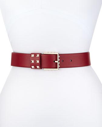 Rockstud Big-Buckle Belt