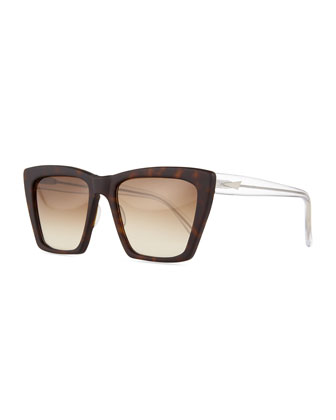 Sydney Square Cat-Eye Sunglasses