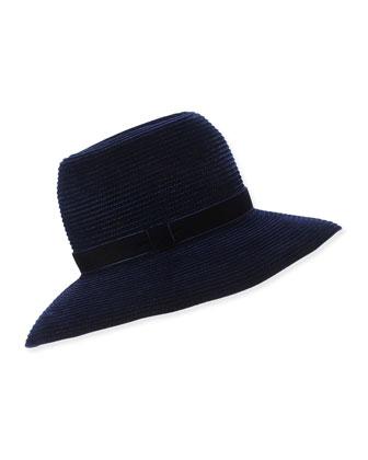 Constance Ribbed Velvet Hat