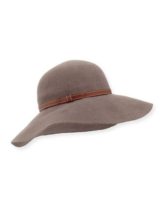 Vicki Floppy-Brim Felt Hat