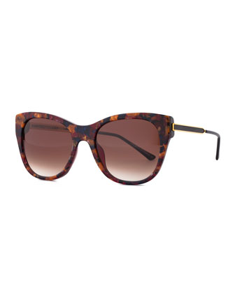 Strippy Modified Cat-Eye Sunglasses