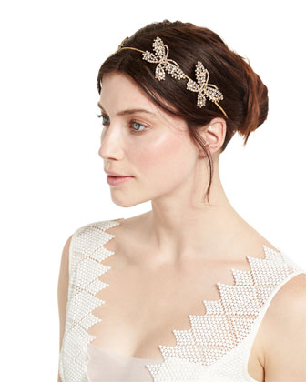 Mariposa Crystal Circlet Headband