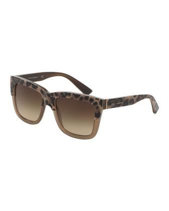 Animalier Dual-Color Sunglasses