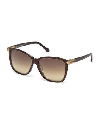 Menkent Square Sunglasses, Brown