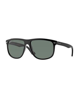 Oversize Wayfarer Polarized Sunglasses