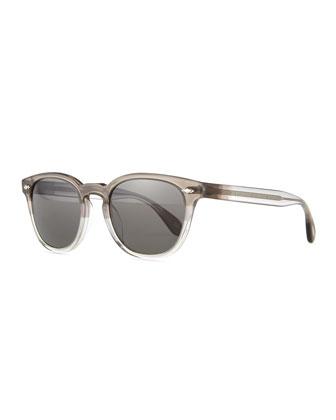 Sheldrake Plus Square Plastic Sunglasses