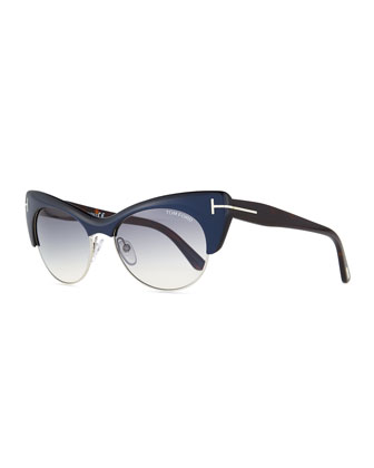 Lola Cat-Eye Sunglasses
