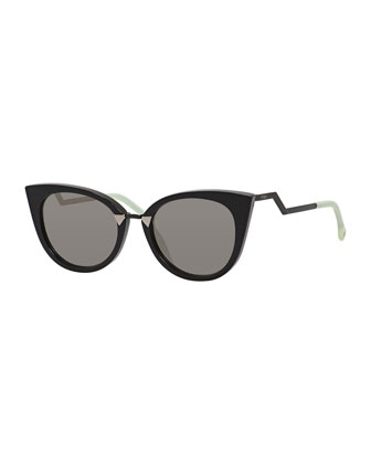 Runway Cat-Eye Sunglasses