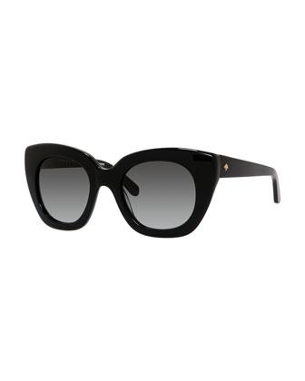 narelle cat-eye sunglasses