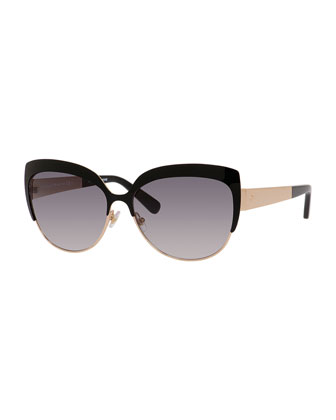 raelyn cat-eye sunglasses