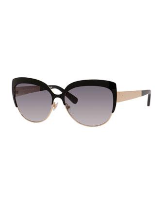 raelyn cat-eye sunglasses