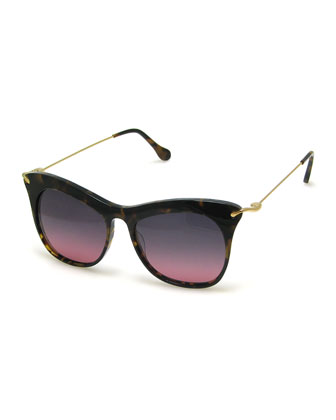 Fairfax Cat-Eye Sunglasses