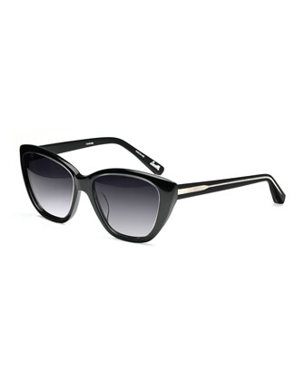 Smith Cat-Eye Acetate Sunglasses