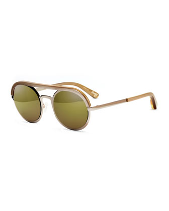 Crosby Brow-Bar Sunglasses