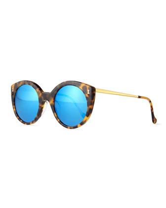 Palm Beach Cat-Eye Sunglasses, Tortoise