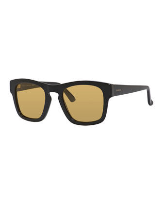 Plastic Rectangle Sunglasses