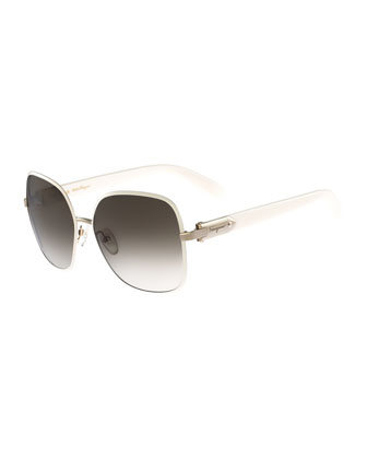 Square Buckle Sunglasses