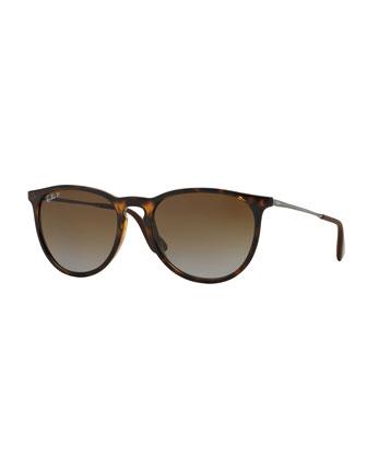 Polarized Square Sunglasses, Havanna