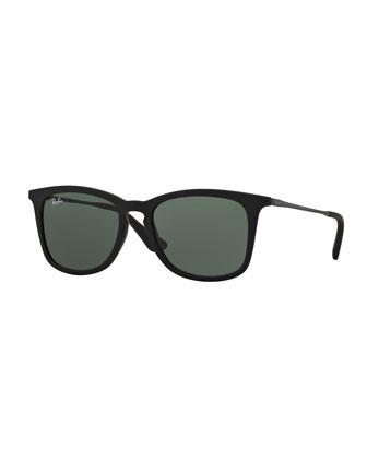 Junior Wayfarer Sunglasses, Black