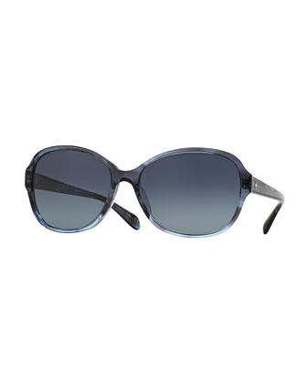Brigid Polarized Butterfly Sunglasses