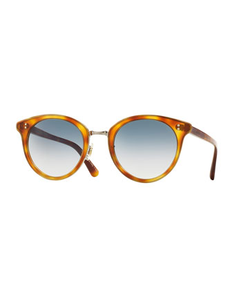 Spelman Photochromic Sunglasses, Light Brown/Silver