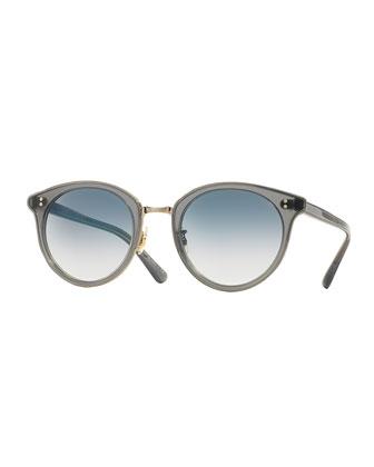 Limited Edition Spelman Sunglasses, Ash/Silver