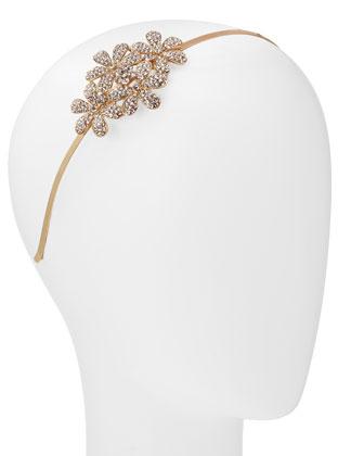 Rhinestone Wild Flower Headband
