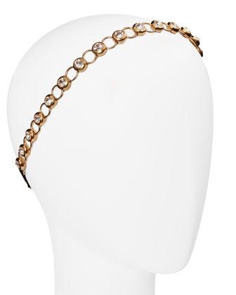 Vivienne Adjustable Rhinestone Headband