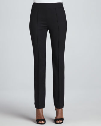Slim Stretch Tropical Wool Pants
