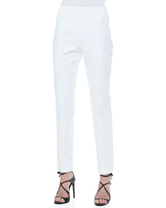 Slim Side-Zip Pants