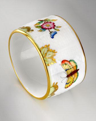 Queen Victoria Napkin Ring