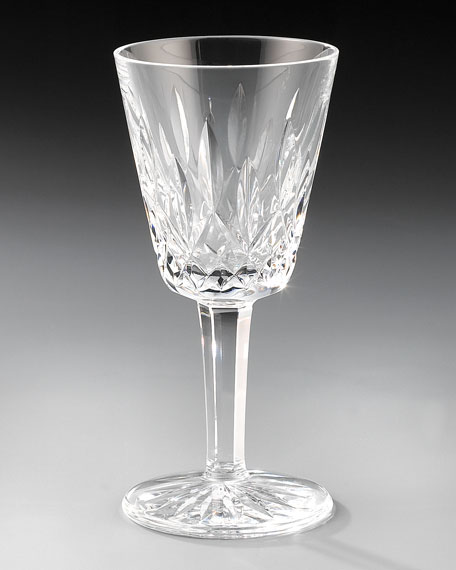 Lismore Wine Glass, White