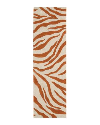 Albino Zebra Rug
