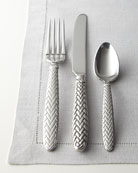 Five-Piece Equestrian Braid Flatware Place Setting