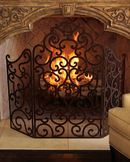 Scroll Fire Screen