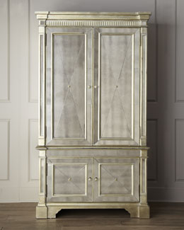 """Amelie"" Mirrored Cabinet"