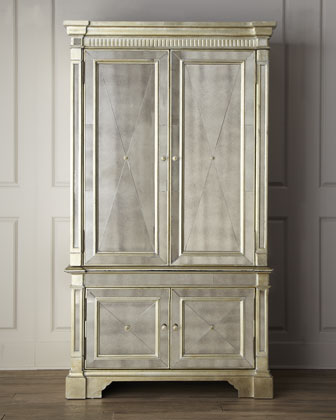Amelie Mirrored Cabinet