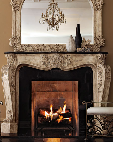 """French"" Fireplace Mantel"