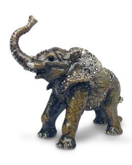 Jay Strongwater Baby Elephant Objet